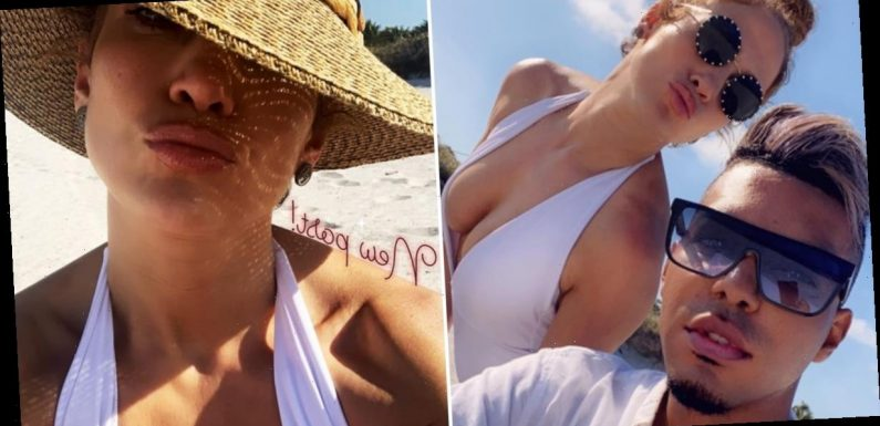 Which Is Hotter: The Sun or J Lo in This Plunging One-Piece? (You Know the Answer)