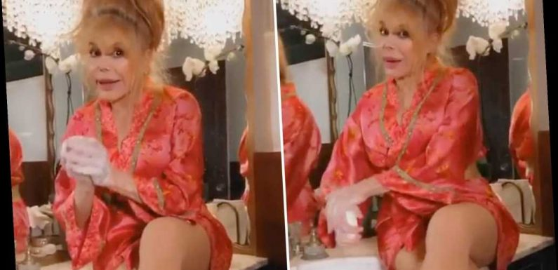 Charo offers hand-washing advice in new video