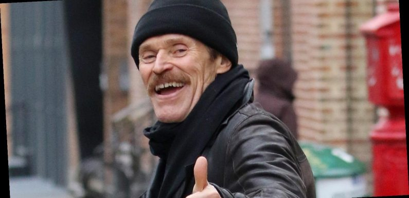 Willem Dafoe Gives Thumbs Up During Walk In NYC Amid Coronavirus Concerns