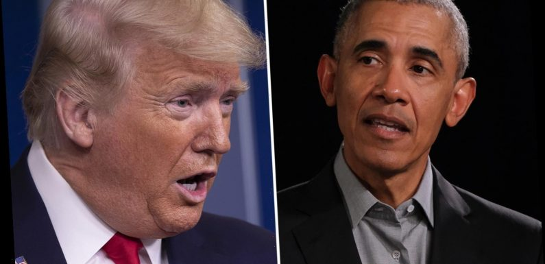 Barack Obama 'depleted respirator mask stock for swine flu and never replenished reserve' leaving Trump with low supply – The Sun