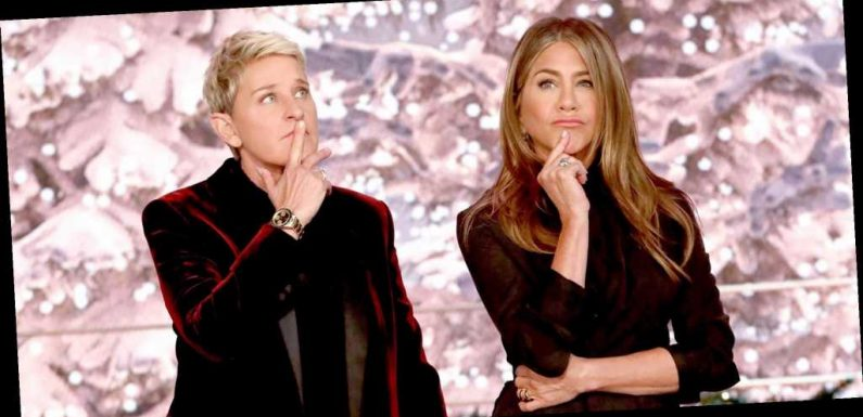 Ellen DeGeneres Just Asked Jennifer Aniston for Self-Isolation Advice