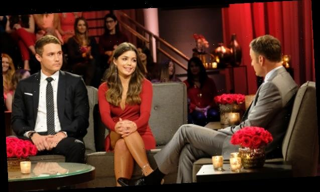 Hannah Ann Sluss Stuns In Red Dress To Reunite With Peter On 'After The Final Rose'