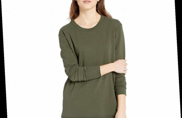 Amazon Shoppers Love to Wear This Comfy $29 Sweater with Their Favorite Leggings