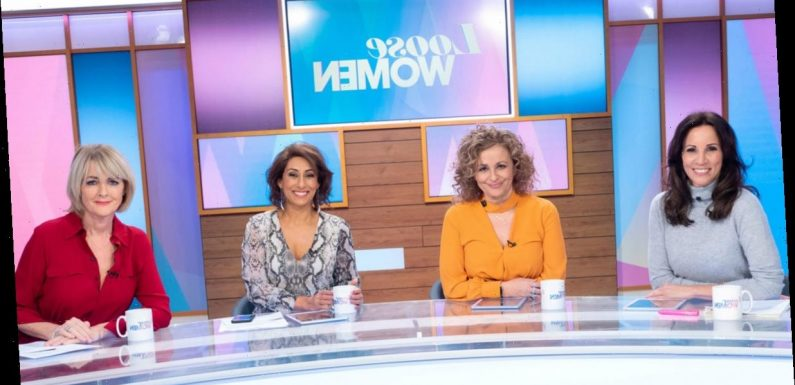 Loose Women reruns will air instead of new episodes from Monday