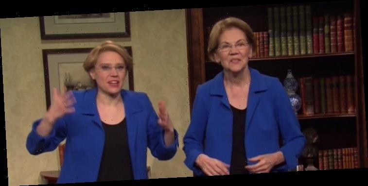 Elizabeth Warren Reveals How She's Doing Since Dropping Out of Presidential Race in 'SNL' Cold Open – Watch!