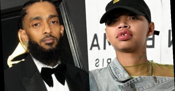 Slick Woods Unveils New Face Tattoo Inspired by Nipsey Hussle