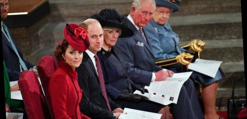 Royals Don't Shake Hands at Commonwealth Service Due to Coronavirus