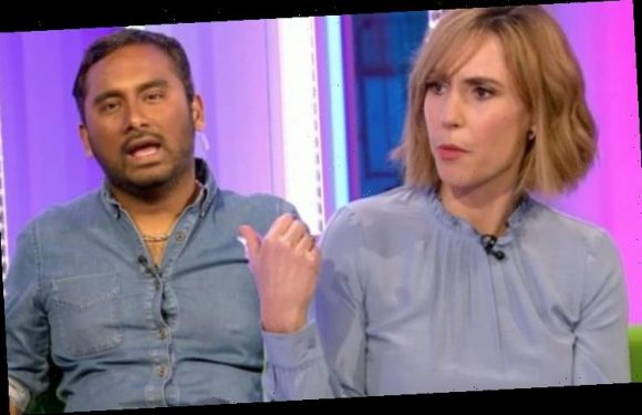 The One Show: Alex Jones fumes at co-host after awkward wardrobe blunder