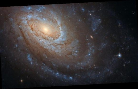 NASA news: CANNIBAL galaxy with 'violent secret' snapped by Hubble Space Telescope
