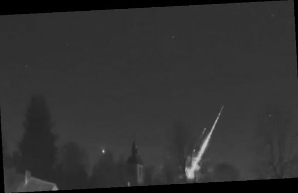Fireball video: Huge fireball shoots over Europe 'I thought it was going to strike'