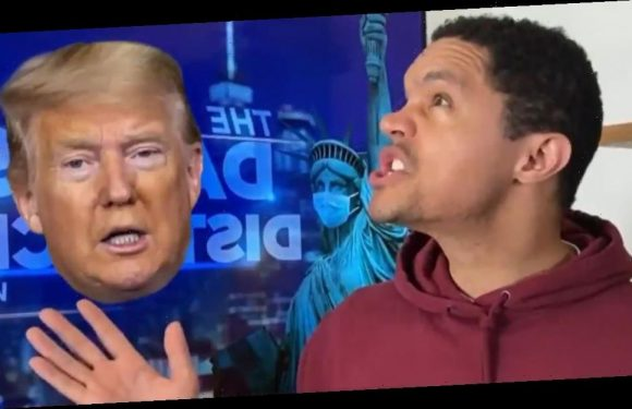 Trevor Noah Wonders What It Might Take To Gets Donald Trump To Wear A Mask