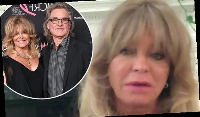 Goldie Hawn admits she 'cries three times a day' due to the pandemic