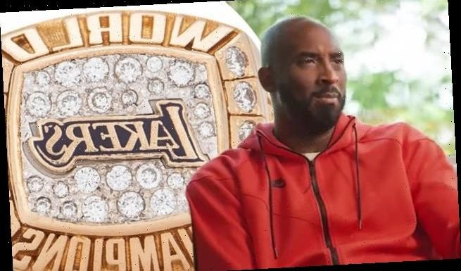Kobe Bryant's gold and diamond ring fetches $206K in auction
