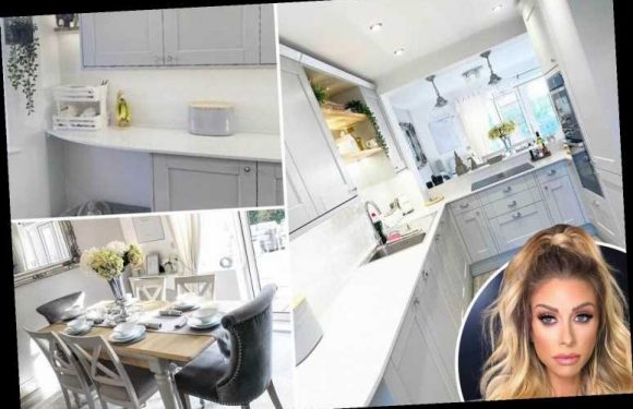 Inside Mrs Hinch's immaculate grey kitchen which matches the rest of her spotless house perfectly – The Sun