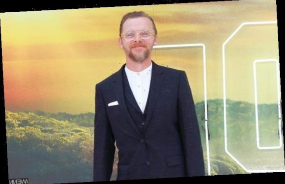Simon Pegg Makes Use of Fake Cigarettes to Acquire Voice Transformation in 'Inheritance'