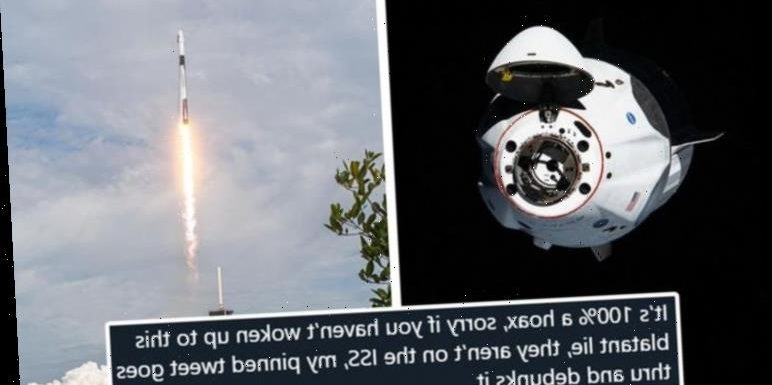 SpaceX launch conspiracy: 'SpaceX mission is hoax' conspiracists decry after Dragon launch