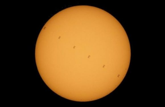 Space Station: See the ISS transit the Sun in these beautiful NASA pictures