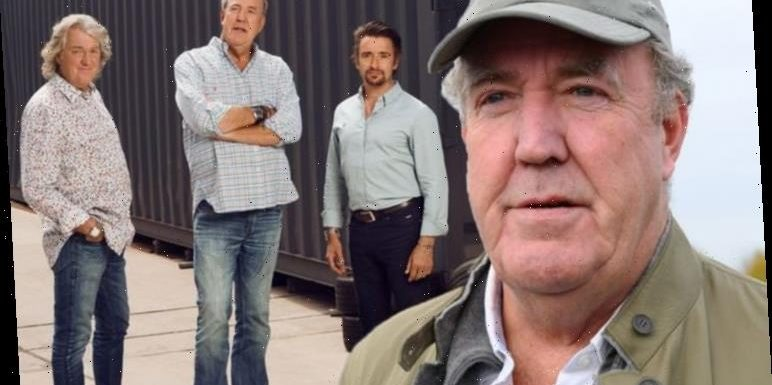 Jeremy Clarkson drops The Grand Tour bombshell as he reunites with May and Hammond