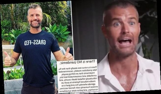 Pete Evans claims 'there is no pandemic' as he spreads fake news