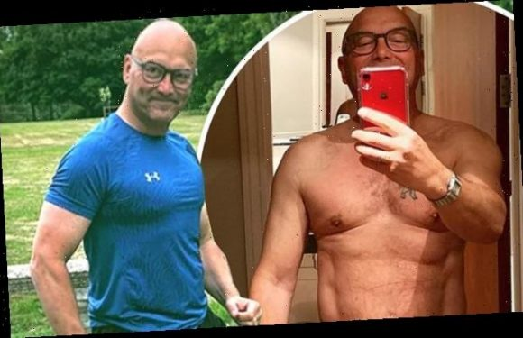 Gregg Wallace, 55, says he got into shape for wife Anna, 33