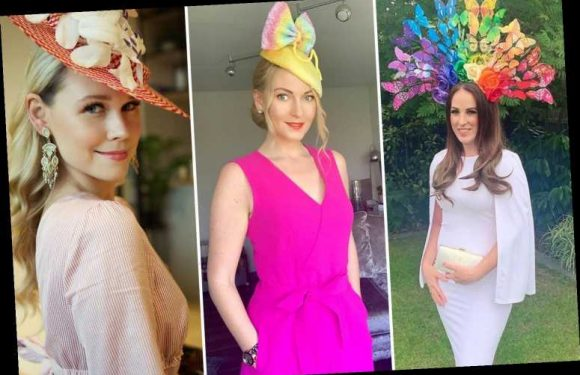 Royal Ascot fans dress to the nines at HOME as they go all out in glam dresses and huge hats