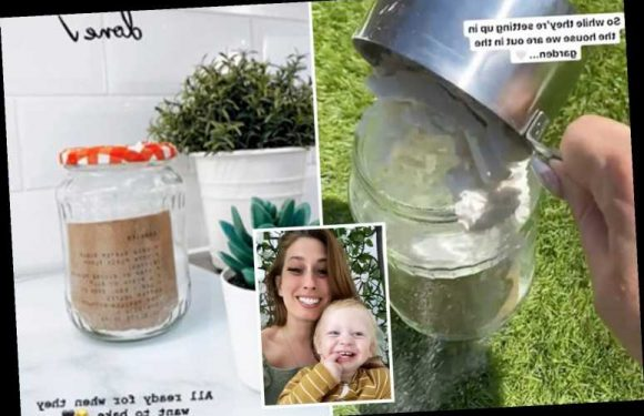 Stacey Solomon shares easy baking hack to speed up making cakes with the kids