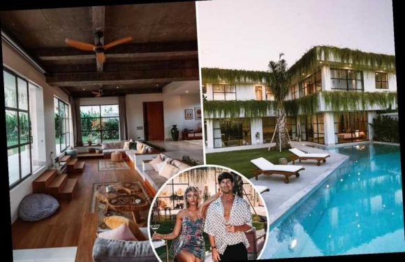 Brit blogger reveals he has 24 hour security & 'someone to sort bills' at £660k Bali mansion funded by Insta earnings