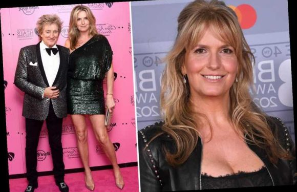 Penny Lancaster is 'going through menopause' in lockdown after mistaking it for coronavirus & Rod has been 'brilliant'