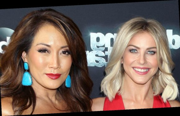DWTS' Carrie Ann Inaba Sends Julianne Hough a Message After Brooks Laich Split