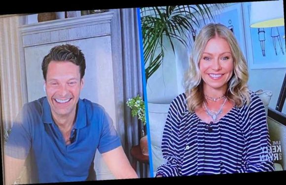 Kelly Ripa Is Now Wearing Swimsuit Cover-Ups on Live with Kelly and Ryan: 'That's What I'm Doing'