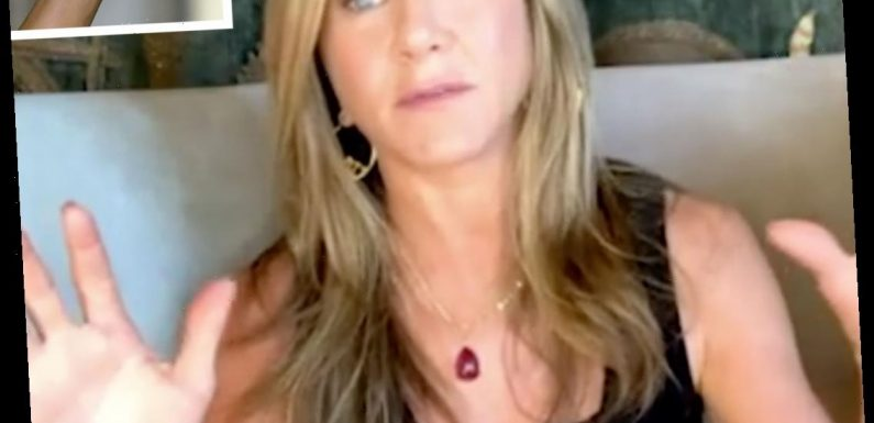 Jennifer Aniston Flashes Her '11 11' Wrist Tattoo During Chat with Friends Co-Star Lisa Kudrow