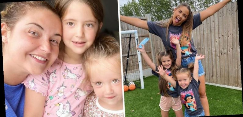 Jacqueline Jossa says she 'couldn't be prouder' of adorable daughters Ella and Mia as she opens up on her time in lockdown