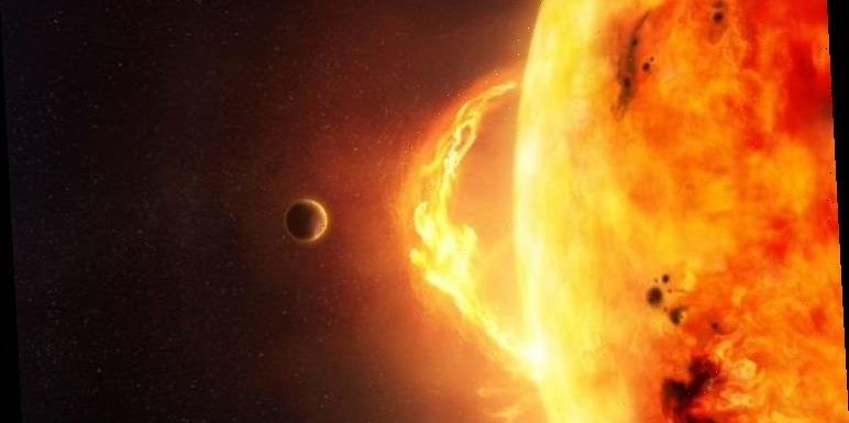 LISTEN: Eerie sound of Earth being BOMBARDED by solar winds – stunning space audio