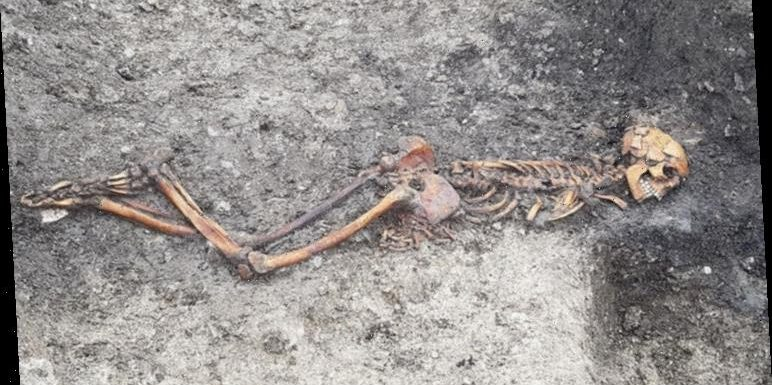 Archaeology news: HS2 works unearth Iron Age victim of grisly murder 'with hands bound'