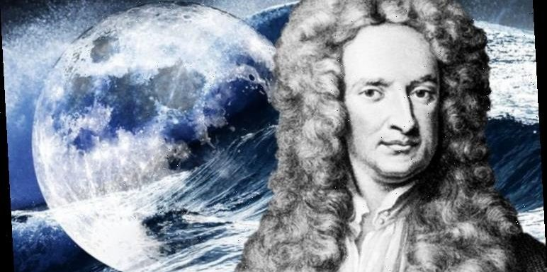 Dark matter SHOCK: Scientist announces new Moon core theory – 'Newton's out-of-date'