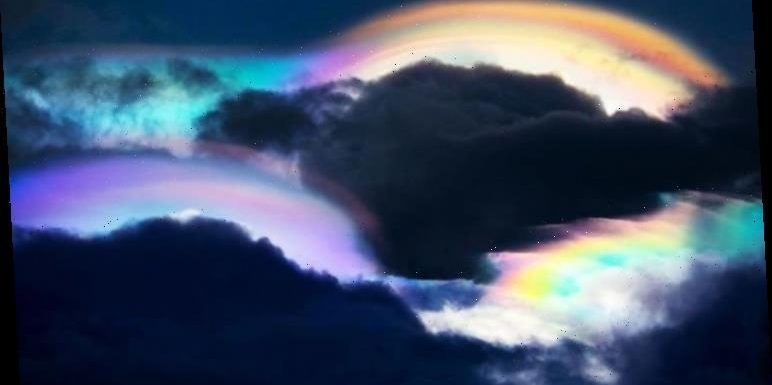 UFO sighting: 'Rainbow UFOs spotted over The Philippines – 'Proof aliens are watching'