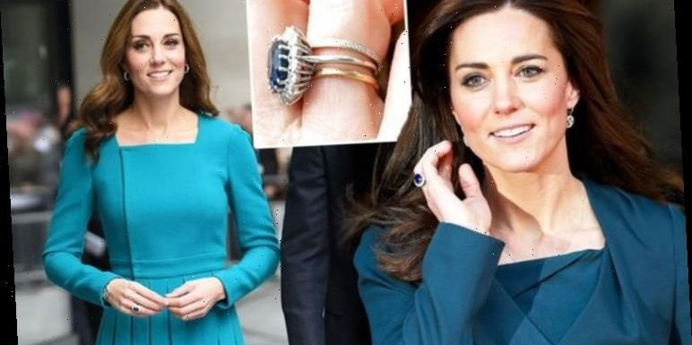 Kate Middleton wears £300k rings from Prince William in special order for sweet reason