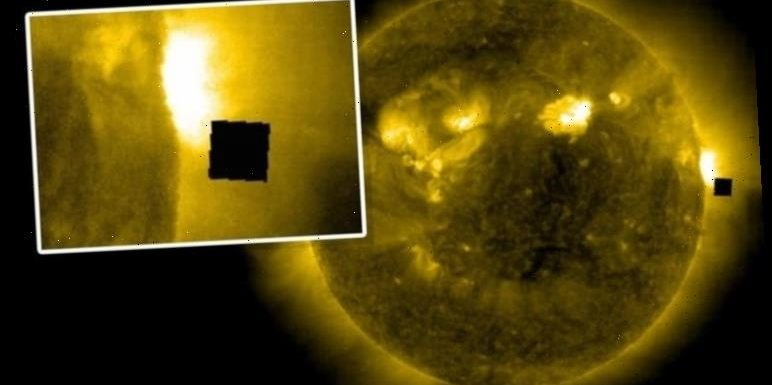 UFO sighting: Is a 'black cube' orbiting the Sun proof of a NASA cover-up?