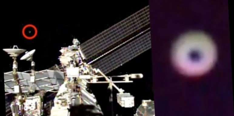 UFO sighting near ISS in NASA live stream which shut down feed – claim