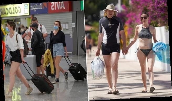 Brits flood into Majorca as 144 flights touch down on holiday island