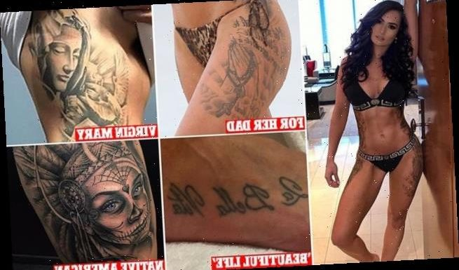 Ex NRL WAG Arabella Del Busso talks about her addiction to tattoos