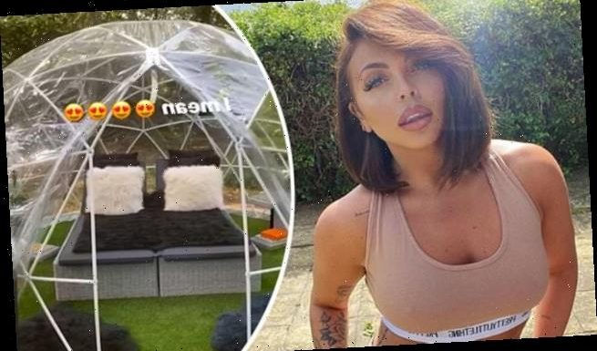 Jesy Nelson gives a glimpse inside her luxury staycation cabin