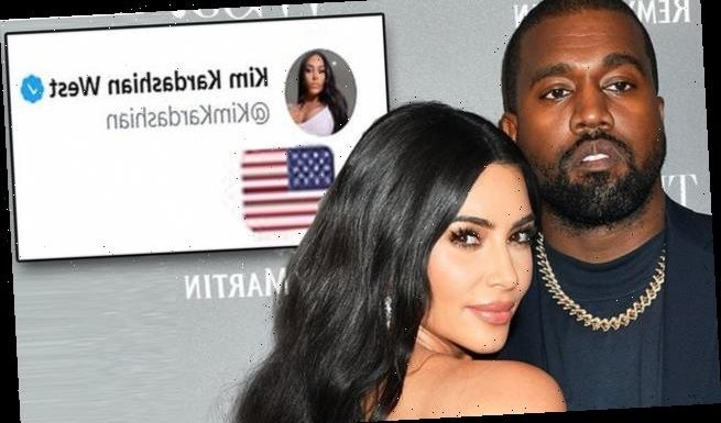 Kim Kardashian appears to endorse Kanye's run for President