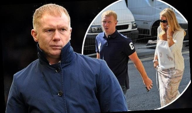 Paul Scholes' wife Claire 'has left their marital home'
