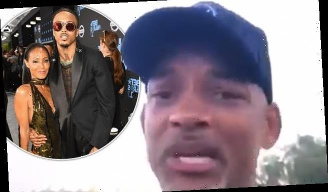 Will Smith appears to address wife Jada's affair in resurfaced clip