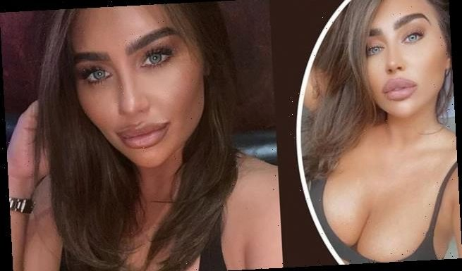 Lauren Goodger flaunts her assets and shares a series of busty selfies