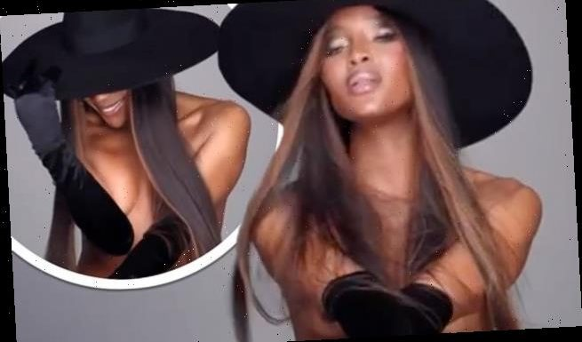Naomi Campbell, 50, goes naked for flirty new campaign video
