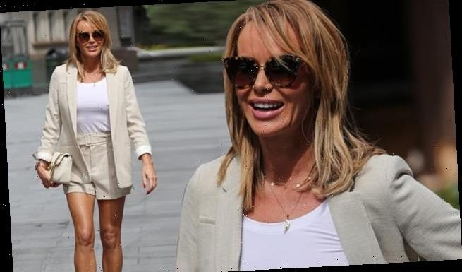 Amanda Holden commands attention as she puts on an eye-popping display