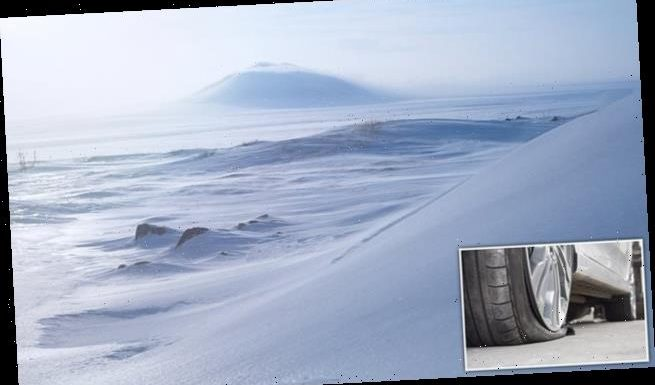 Microplastis from tyres reaching the Arctic 'hastening ice cap melt'