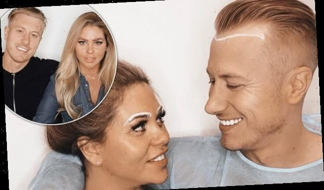 Kris Boyson and Bianca Gascoigne get His and Hers hair transplants